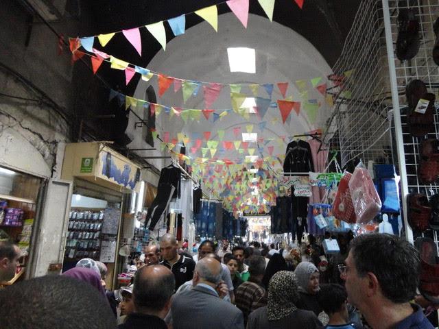 Bazaar in Nablus